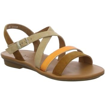 Schuhe Damen Sandalen / Sandaletten Paul Green Sandaletten 7589 7589-036 braun