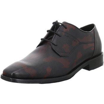 Schuhe Herren Derby-Schuhe Daniel Hechter Schnuerschuhe 811779021110-1030 schwarz