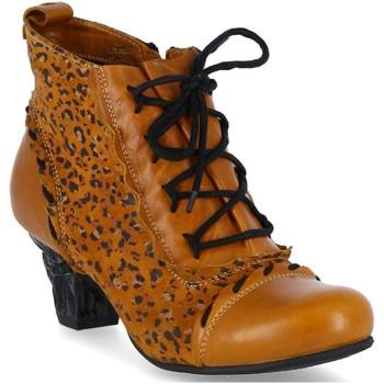 Schuhe Damen Boots Simen Stiefeletten 1636A gelb