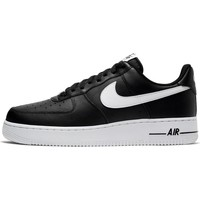 Schuhe Herren Sneaker Low Nike Air Force 107 AN20 Schwarz