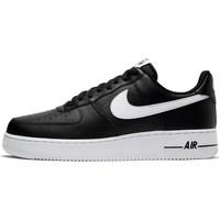Schuhe Herren Sneaker Low Nike Air Force 107 AN20 Schwarz