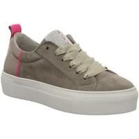 Schuhe Damen Sneaker Low Idana Schnuerschuhe 236788437 braun