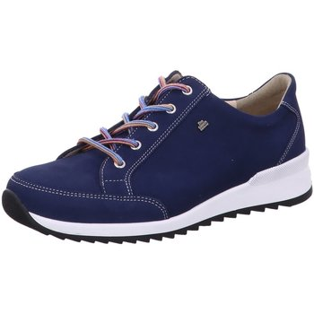Schuhe Damen Sneaker Low Finn Comfort Schnuerschuhe PORDENONE 02377007414 blau