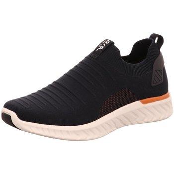 Schuhe Herren Sneaker Low Ara Slipper 11-35096-06 Schwarz