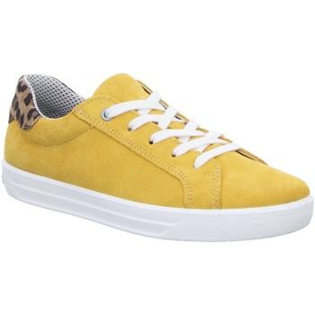 Schuhe Mädchen Sneaker Low Ricosta Schnuerschuhe 71 8100600/761 gelb