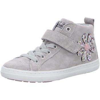 Schuhe Mädchen Sneaker High Vado Stiefel Flora 91001-411 grau
