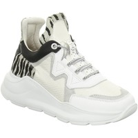 Schuhe Damen Sneaker High Cetti C1187 SRA SWEET MESH WHITE weiß