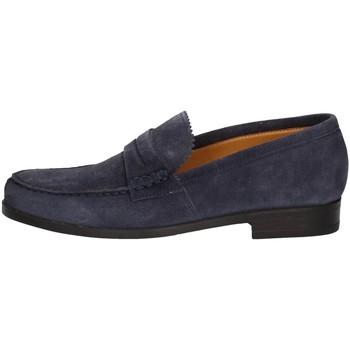 Schuhe Herren Slipper Campanile 9649 BLUE