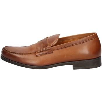 Schuhe Herren Slipper Campanile T9415 BROWN