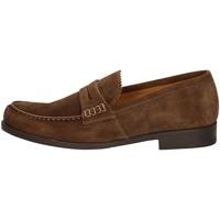 Schuhe Herren Slipper Campanile 9649 BROWN