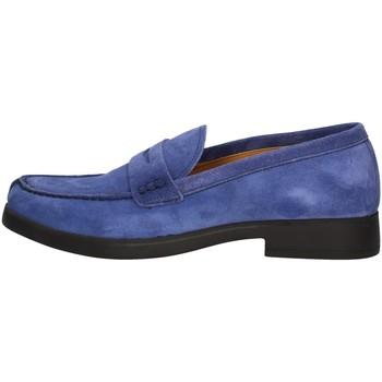 Schuhe Herren Slipper Campanile X79 BLUE