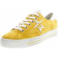 Schuhe Damen Sneaker Low Paul Green PG Damen Sneaker 4810 226 Gelb