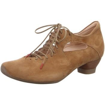Schuhe Damen Slipper Think Slipper 86255-55 braun