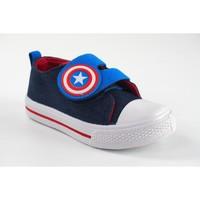 Schuhe Jungen Sneaker Low Cerda Leinwand Kind CERDÁ 2300004345 blau Rot