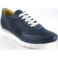 Schuhe Damen Sneaker Low Chacal Damenschuh  5063 blau Blau
