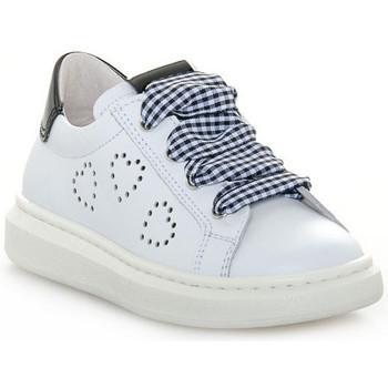 Schuhe Mädchen Sneaker Low Nero Giardini NERO GIARDINI 707 CILE BIANCO Bianco