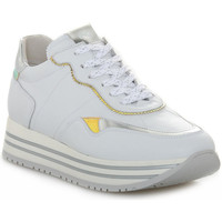 Schuhe Damen Sneaker Low Nero Giardini NERO GIARDINI 707 CILE BIANCO Bianco