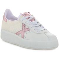 Schuhe Damen Sneaker Low Munich 037 BARRU SKY Bianco
