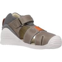 Schuhe Jungen Sandalen / Sandaletten Biomecanics 202141 Grau