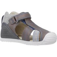 Schuhe Jungen Sandalen / Sandaletten Biomecanics 202146 Grau
