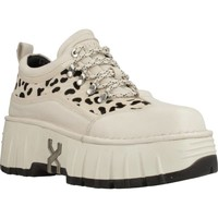 Schuhe Damen Sneaker Low Bronx BRONX M0ON-WALKK Beige