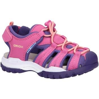 Schuhe Mädchen Sportliche Sandalen Geox J020WB 05015 J BOREALIS Rosa