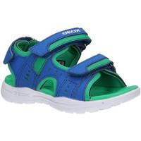 Schuhe Kinder Sportliche Sandalen Geox J025XA 0CE15 J VANIETT Azul