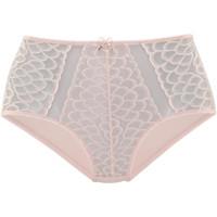 Unterwäsche Damen Damenslips Lascana Slip mit hoher Taille Camilla rosa Zartrosa