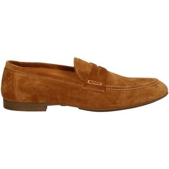 Schuhe Herren Slipper Campanile T9783S CARAMEL
