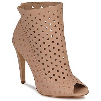 Schuhe Damen Ankle Boots Bourne RITA Beige