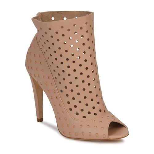 Bourne RITA Beige  Schuhe Ankle Boots Damen 190