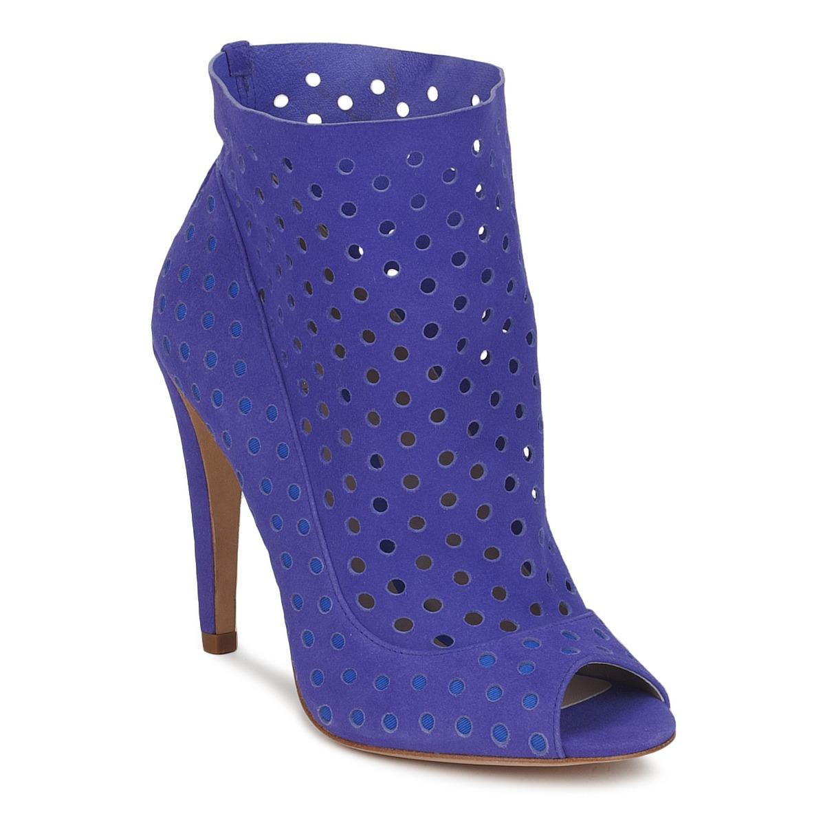 Bourne RITA Blau - Kostenloser Versand bei Spartoode ! - Schuhe Ankle Boots Damen 136,50 €