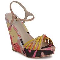 Schuhe Damen Sandalen / Sandaletten Bourne KARMEL Beige / Multifarben