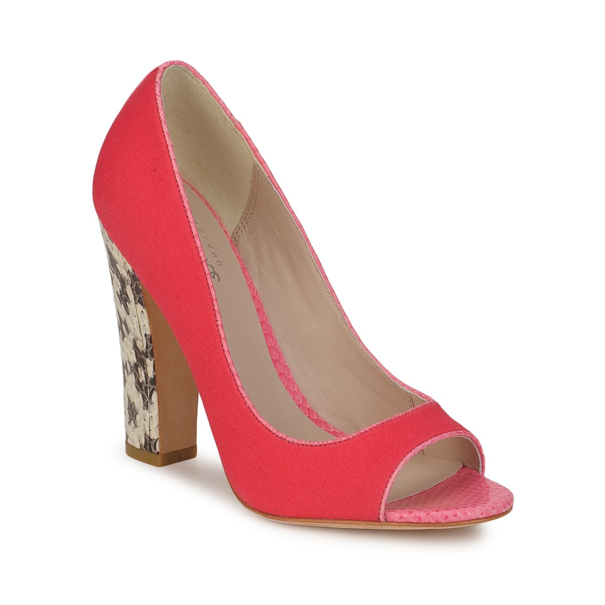 Bourne FRANCESCA Korallenrot - Kostenloser Versand bei Spartoode ! - Schuhe Pumps Damen 112,50 €