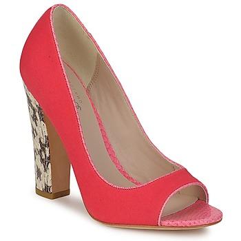 Schuhe Damen Pumps Bourne FRANCESCA Korallenrot