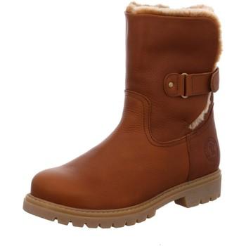 Schuhe Damen Stiefel Panama Jack Stiefeletten cuero/bark Felia B8 Napa Gras braun