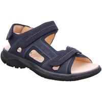 Schuhe Herren Sportliche Sandalen Ganter Offene Giovanni 9-257122-3100 9-257122-3100 blau
