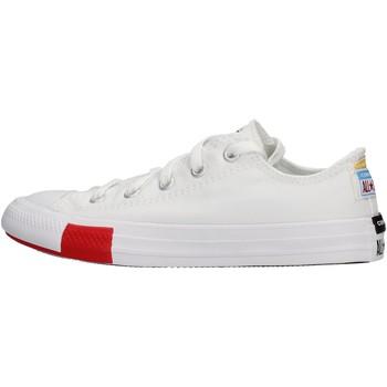 Schuhe Jungen Sneaker Low Converse - Ctas ox bianco 366993C BIANCO