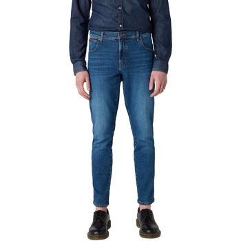 Kleidung Herren Slim Fit Jeans Wrangler - Texas slim jeans W12ST112E BLU
