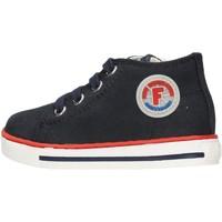 Schuhe Jungen Sneaker Falcotto - Polacchino blu MAGIC-0C01 BLU