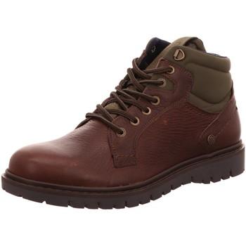 Schuhe Herren Stiefel Wrangler Tucson Mid WM92037S braun
