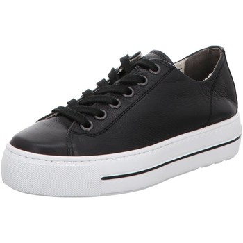 Schuhe Damen Sneaker Low Paul Green 4790 schwarz
