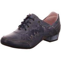 Schuhe Damen Richelieu Maciejka 02375-17 blau
