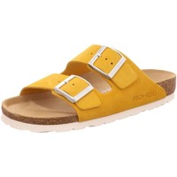 Schuhe Damen Pantoffel Rohde Pantoletten 5590-20 gelb