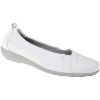 Schuhe Damen Ballerinas Natural Feet Ballerina Polina Farbe: weiß weiß