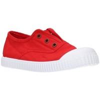Schuhe Jungen Sneaker Low Potomac 292   C39    Rojo Niño Rojo rouge