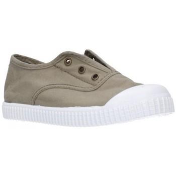 Schuhe Jungen Sneaker Low Potomac 292   C31     Kaki Niño Kaki vert