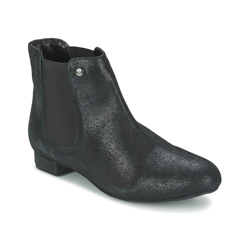 Stiefelletten / Boots Elle MABILLON Schwarz / Leuchtend 350x350