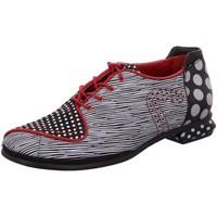 Schuhe Damen Derby-Schuhe & Richelieu Simen Schnuerschuhe 2927A SCHWARZ/WEISS schwarz