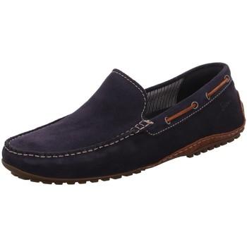 Schuhe Herren Slipper Sioux Slipper Callimo 36193 blau